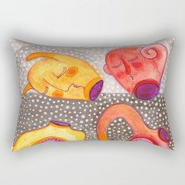 daemons - the dancing couple Rectangular Pillow