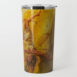 Fairy Caught in Amber Travel Mug