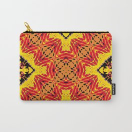 ethnic cross red Carry-All Pouch