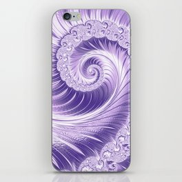 Ultra Violet Luxe Spiral Pattern | Trendy Color of the Year 2018 iPhone Skin