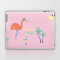 Pink-Flamingo Laptop & iPad Skin