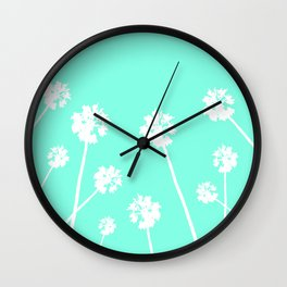 Palms in the Sky Wall Clock