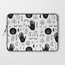 Witchy Patterns Laptop Sleeve