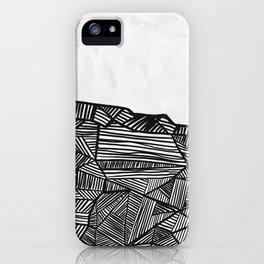 Modern improvisation 04 iPhone Case