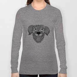 Zentangle Dog Long Sleeve T-shirt