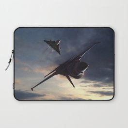 Morning Aerob(at)ics Laptop Sleeve