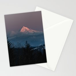 Mt. Hood Forest Mountain - Nature Photography Stationery Cards
