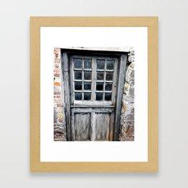 Cornmill Door, Ireland Framed Art Print