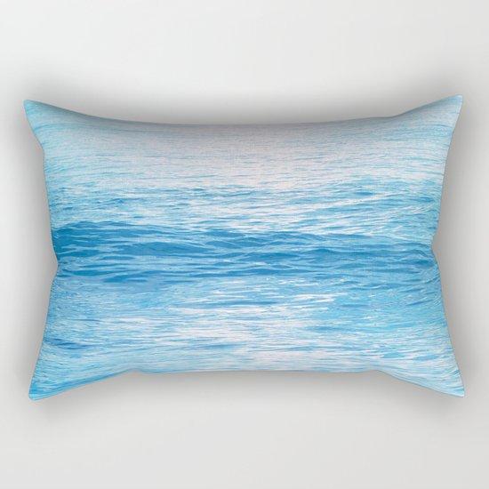 Cerulean Sea Rectangular Pillow