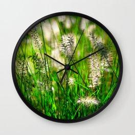 Grass (1) Wall Clock