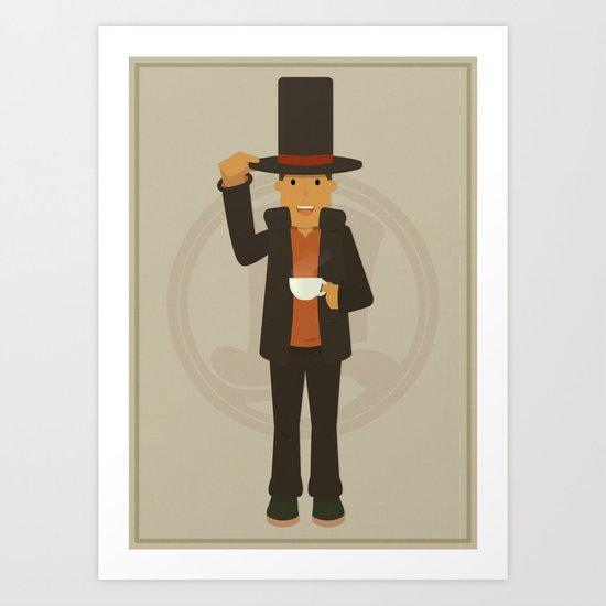 Professor Layton - Hershel Layton Art Print