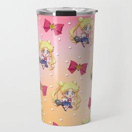 Chibi Usagi Pattern Travel Mug