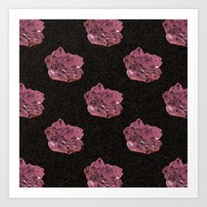Amethyst Pattern Art Print