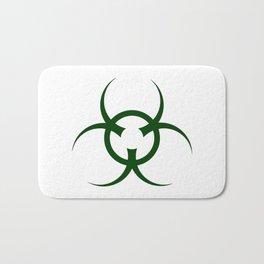 Bio Hazard Symbol Bath Mat