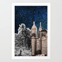 City Dreaming 2 Art Print