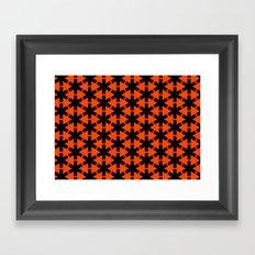 Meibloem Red  Framed Art Print