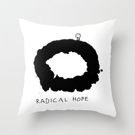 Radical Hope Throw Pillow