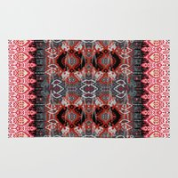 ikat Area & Throw Rugs featuring Ikat by Sofia Perina-Miller