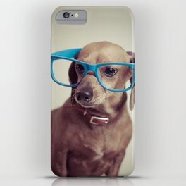 Dogs think they're sooo smart... iPhone Case