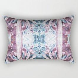 90s pastel grunge botanical garden Rectangular Pillow