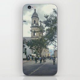 Cathedral at Historic Center of Bogota Colombia iPhone Skin