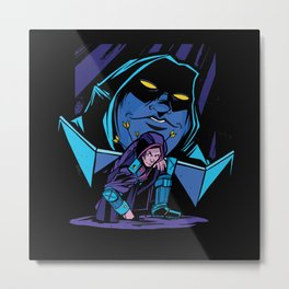 Dungeon Master Role Play RPG Metal Print