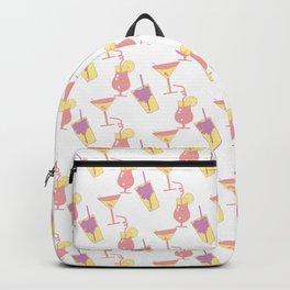 Summer beverage pattern Backpack