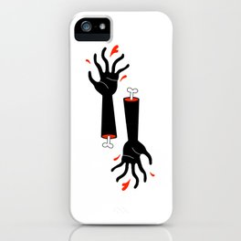 Severed arms iPhone Case