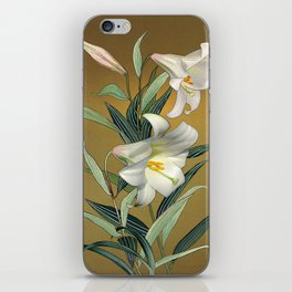 Trumpet Lily iPhone Skin