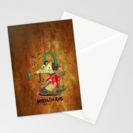 Mystic Tip Rats Stationery Cards