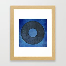 Ring Framed Art Print