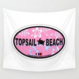 Topsail Beach - North Carolina. Wall Tapestry