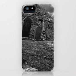 Ruins of the Cill Chriosd Church and Cemetery iPhone Case