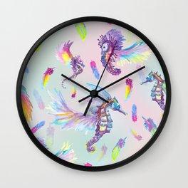 Ocean Pegasus Wall Clock