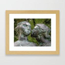 Kiss Lisbon Framed Art Print