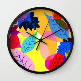 Fleurs Wall Clock