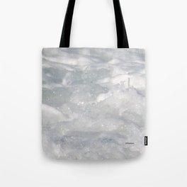 TEXTURES: Laguna Beach Sea Foam #1 Tote Bag