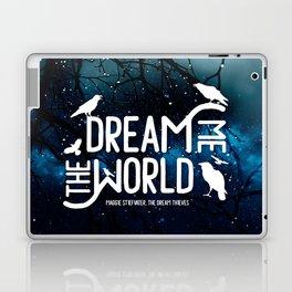 Dream me the world v2 Laptop & iPad Skin