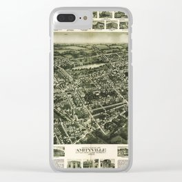 Aerial View of Amityville, New York (1925) Clear iPhone Case