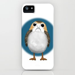 Simply Porg iPhone Case