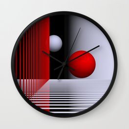experiments on geometry -5- Wall Clock