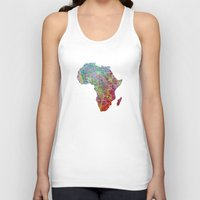 africa Tank Tops featuring Africa by mthbt