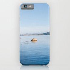 Norwegian fjord landscape in winter Slim Case iPhone 6s