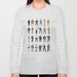 The many faces of Arnold schwarzenegger Long Sleeve T-shirt