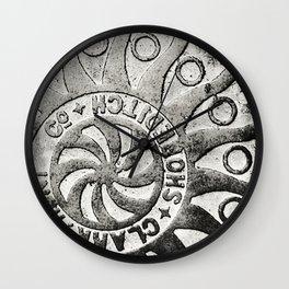 Manhole Cover 4 Wall Clock