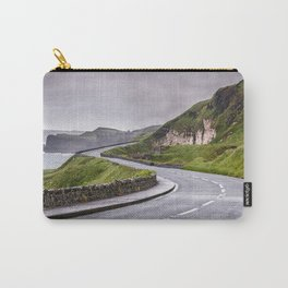 Windy road,Dunluce castle,Ireland,Northern Ireland Carry-All Pouch