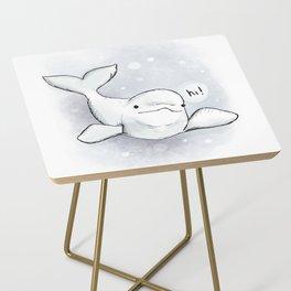 Beluga Greeting Side Table