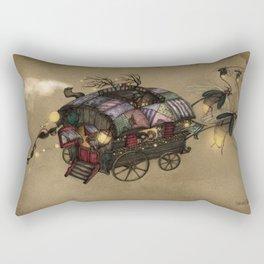 The Gypsy Wagon Rectangular Pillow