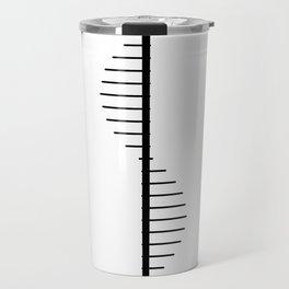 Spiral Staircase Silhouette Travel Mug