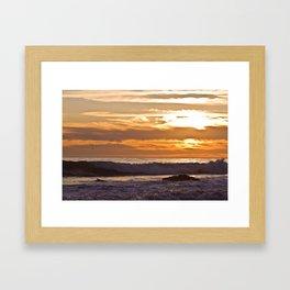 El Matador Sunset, 2011 Framed Art Print